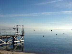 Le plan d'eau et les merveilles de notre île n'attendent que nous